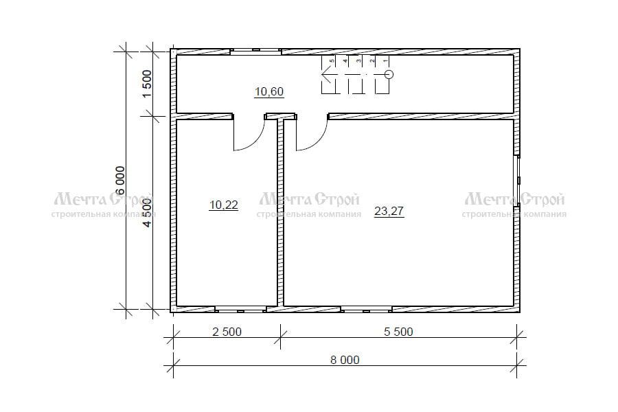 дом 8.0x6.0 - схема (2)